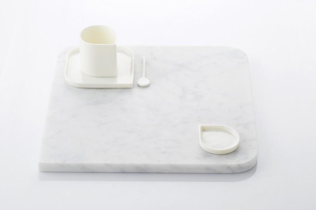 Rhythm - cutting board marble