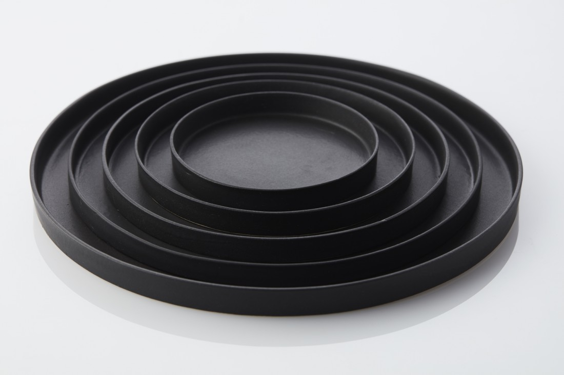 True black - 5 plates