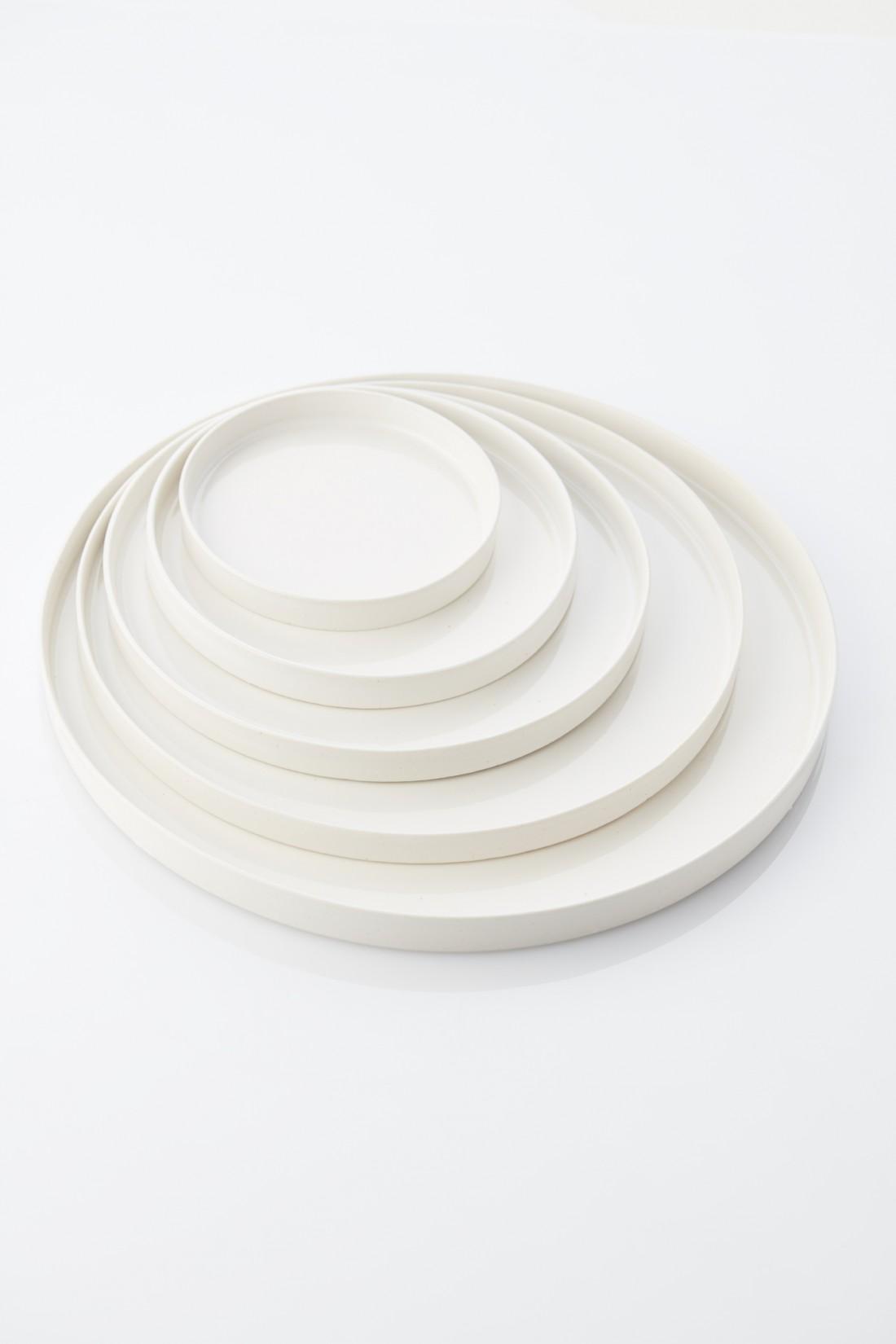 True white - 5 plates